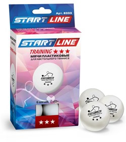 Мячи для настольного тенниса Start Line TRAINING 3* - фото 27896