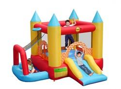 Надувной батут Happy Hop Замок 4 в 1 9114 - фото 5753