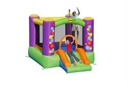 Надувной батут с горкой Happy Hop Игра 9201B - фото 7059