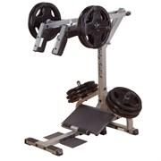 Тренажер приседание + голень стоя Body-Solid GSCL360