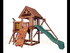 """Игровая площадка PlayGarden """"Green Hill II"""" с балконом"""