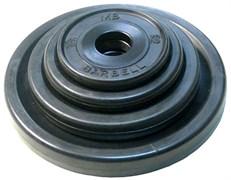 Диски обрезиненные евро-классик Barbell черные, вес от 1,25 до 25 кг в ассортименте