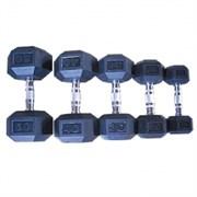 Гантельный ряд DB139 от 12,5 до 30 кг