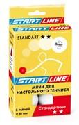 Мячи для настольного тенниса Start-line STANDART 2*