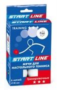 Мячи для настольного тенниса Start Line TRAINING 3*