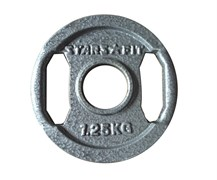 Диски металлические с хватом StarFit, вес от 1,25 до 25 кг в ассортименте