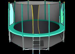 Батут с сеткой Hasttings Classic 14 ft (426 см) комплект Green