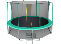 Батут с сеткой Hasttings Classic 15 ft (460 см) комплект Green