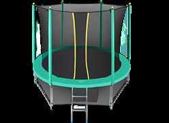 Батут с сеткой Hasttings Classic 8 ft (244 см) комплект Green