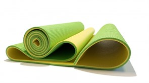Коврик для фитнеса 6 мм Original Fit.Tools Banana Lime FT-YGM06S-BANANALIME