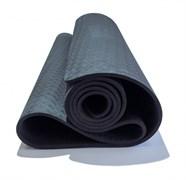 Коврик для йоги 6 мм Original Fit.Tools FT-YGM-06TPE-1830-BK