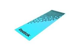 Коврик для фитнеса мягкий голубо-черный 10 мм Reebok RAMT-12235BL