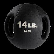 Тренировочный мяч Body-Solid с хватами 6,4 кг (14lb)
