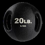 Тренировочный мяч Body-Solid с хватами 9,1 кг (20lb)