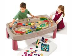 """Игровой детский столик """"Дорога над каньоном"""" Step-2"""