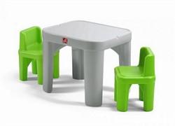 Детский столик с двумя стульями Step-2