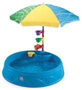 Бассейн для малышей с зонтиком Step-2