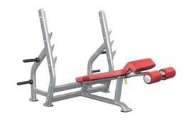 Олимпийская скамья с отрицательным наклоном AeroFit Impulse IT7016