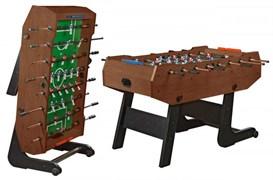 Игровой стол футбол (кикер) «Maccabi» складной махагон