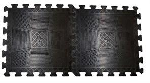 Мат пазл Barbell черный 12 мм