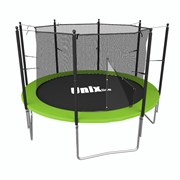 Батут с сеткой UNIX line Simple 10 ft Green inside