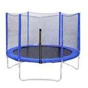 Батут DFC Trampoline Fitness 10 ft (305 см) blue
