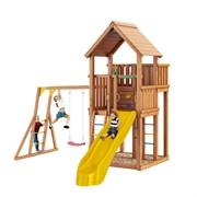 """Деревянная детская площадка Jungle Gym JP5  """"Кудеби"""""""