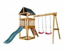 Детская игровая площадка Babygarden Play 1 темно-зеленая