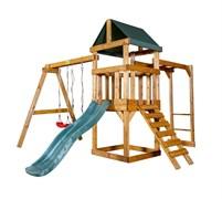Детская игровая площадка Babygarden Play 3 темно-зеленая