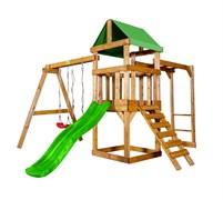 Детская игровая площадка Babygarden Play 3 светло-зеленая