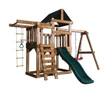 Детская игровая площадка Babygarden Play 5 темно-зеленая