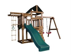Детская игровая площадка Babygarden Play 6 темно-зеленая