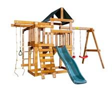 Детская игровая площадка Babygarden Play 7 темно-зеленая