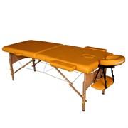 Складной массажный стол DFC Nirvana Relax горчичный