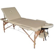 Складной массажный стол DFC Nirvana Relax Pro бежевый