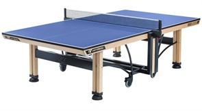 Теннисный стол профессиональный Cornilleau COMPETITION 850 WOOD ITTF синий