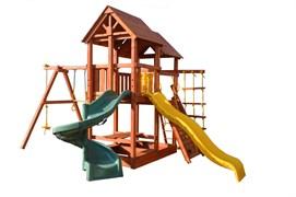 Игровая площадка PlayGarden SkyFort Spiral стандарт со спиральной горкой