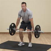 Гриф Body-Solid для становой тяги (широкий параллельный хват)